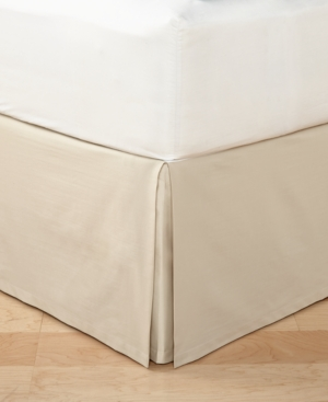 Hotel Collection Distressed Chevron Queen Bedskirt Created for Macys Bedding