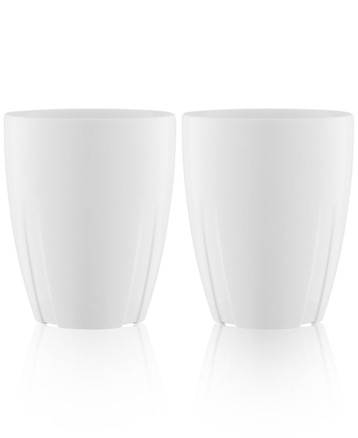 Orrefors - Kosta Boda Bruk 2-Pc. Mug Set with Lids
