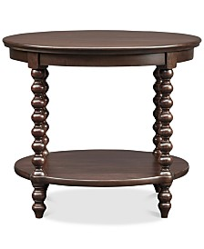 Kye Round End Table, Quick Ship