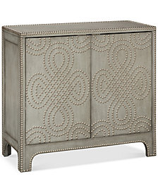 Treton Nailhead Accent Chest, Quick Ship