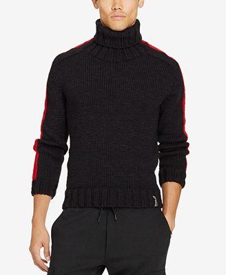 Polo Ralph Lauren Mens Merino Wool Turtleneck Sweater Sweaters