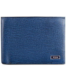 Tumi Men's Leather Double Billfold Wallet