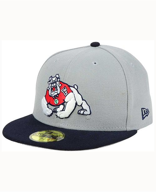 4a1d5f6bd2af3a New Era Fresno State Bulldogs Grayson 59FIFTY Fitted Cap & Reviews ...