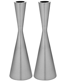 Lighting by Design 2-Pc. Hourglass Candlestick Set