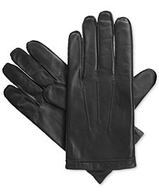Isotoner Signature Men's Leather Gloves