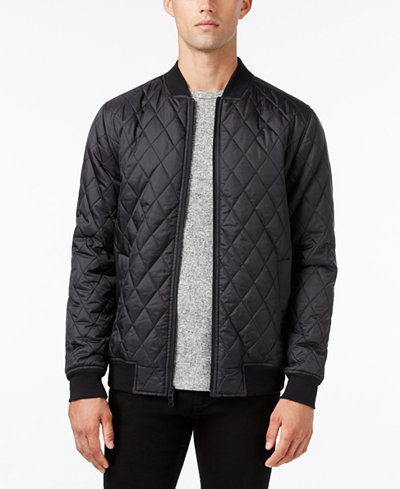 KR3W Men's Bowery Quilted Full-Zip Jacket