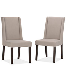 Tanley 2 Pack Deluxe Dining Chair, Quick Ship
