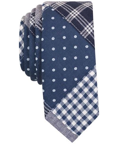 Original Penguin Men's Paget Plaid Skinny Tie