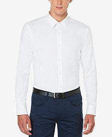 Perry Ellis Men's Non-Iron Stretch Woven Shirt