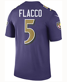 Nike Men's Joe Flacco Baltimore Ravens Legend Color Rush Jersey