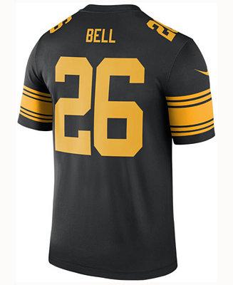 1d1fce0c2d4 Nike Men s Le Veon Bell Pittsburgh Steelers Legend Color Rush Jersey    Reviews - Sports Fan Shop By Lids - Men - Macy s