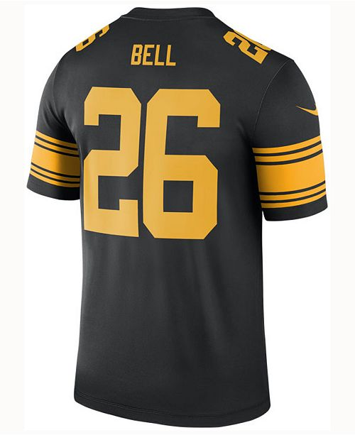 d2939ec4bf5 ... Nike Men's Le'Veon Bell Pittsburgh Steelers Legend Color Rush Jersey ...