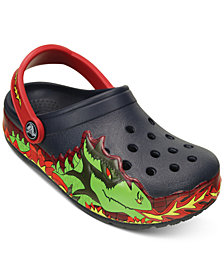 Crocs CrocsLights Dragon Clogs, Toddler Boys & Little Boys