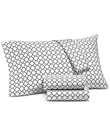 Charter Club Damask Designs Printed Geo King Pillowcase Pair, 500 Thread Count, Created for Macy's
