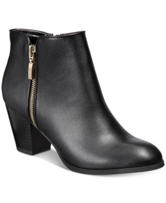 Image of Style & Co Jamila Zip Booties, Created for Macy's