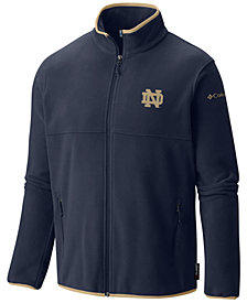 Columbia Men's Notre Dame Fighting Irish Fuller Ridge Fleece Jacket