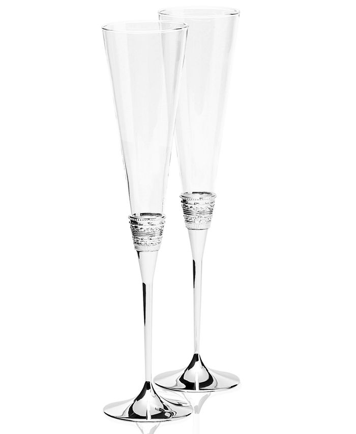 Vera Wang Wedgwood - With Love Toasting Flute Pair