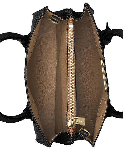Michael Kors Mercer Pebble Leather Crossbody Handbags Accessories Macy S