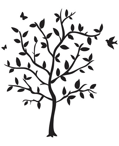 Godinger Philip Whitney Tree Wall Decal