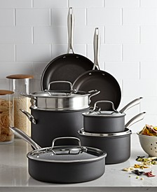 Hard-Anodized 11-Pc. Cookware Set