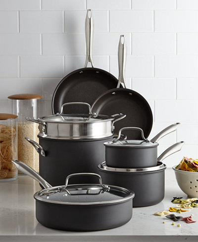 Cuisinart Hard-Anodized 11-Pc. Cookware Set
