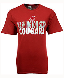 J America Men's Washington State Cougars Verb Stack T-Shirt