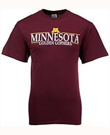 J America Men's Minnesota Golden Gophers Line Stack T-Shirt