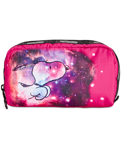 LeSportsac Peanuts Collection Rectangular Cosmetics Case