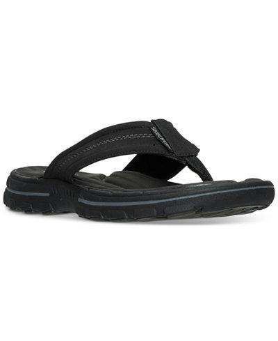 Skechers Men's Bravelen-Seleno Slide Sandals from Finish Line