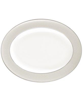 Dinnerware, Etoile Platinum Oval Platter