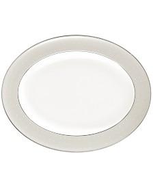 Monique Lhuillier Waterford Dinnerware, Etoile Platinum Oval Platter
