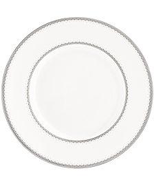 Monique Lhuillier Waterford Dinnerware, Dentelle Scallop Accent Plate