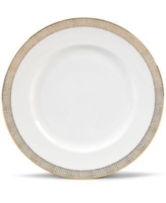 Gilded Weave Gold Dinner Plate
