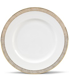 Vera Wang Wedgwood Gilded Weave Gold Dinner Plate