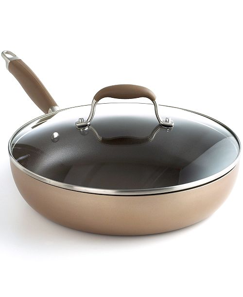 "Anolon Advanced Bronze Nonstick 12"" Covered Ultimate Pan"