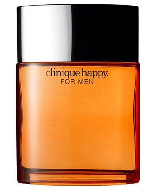 Clinique Happy for Men Cologne Spray, 3.4 oz.