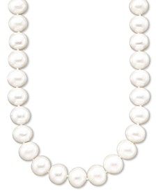 Pearl A+ Cultured Freshwater Pearl Strand Necklace (11-13mm)