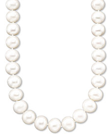 Belle de Mer Pearl A+ Cultured Freshwater Pearl Strand Necklace (11-13mm)