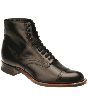 Steampunk Boots and Shoes for Men Stacy Adams Madison Boots Mens Shoes $129.98 AT vintagedancer.com
