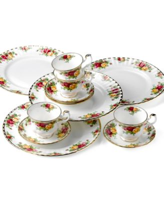 Old Country Roses 12-Pc. Service for 4
