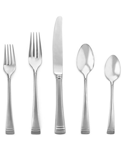 Lenox 20 Pc Federal Platinum Flatware Set Flatware