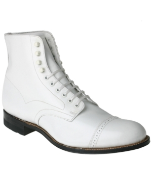 Steampunk Boots and Shoes for Men Stacy Adams Mens Madison Boot Mens Shoes $129.98 AT vintagedancer.com