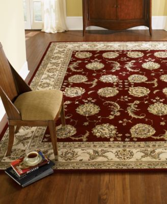 Round Area Rug, Wool & Silk 2000 2022 Lacquer 8'
