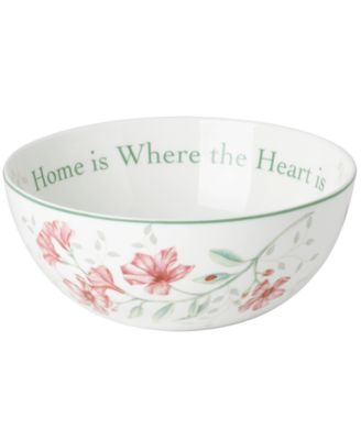 Dinnerware, Butterfly Meadow Bowl Where the Heart Is