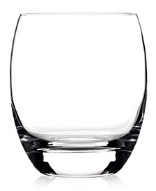 Luigi Bormioli Glassware, Set of 4 Crescendo Double Old-Fashioned Glasses