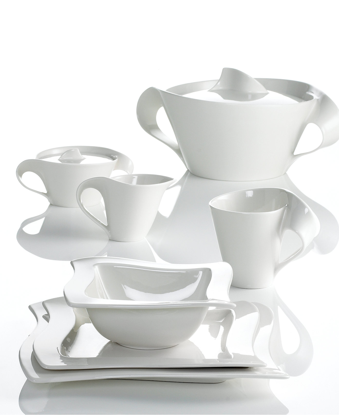 Villeroy and boch new wave set - Villeroy Boch Dinnerware New Wave Collection Dinnerware Dining Entertaining Macy S