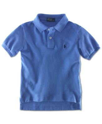 Image of Ralph Lauren Little Boys' Pique Polo, Toddler and Little Boy (2T-7)