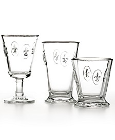 Glassware, Fleur De Lys Collection