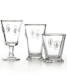 La Rochère Glassware, Fleur De Lys Collection