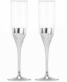 Lenox True Love Flutes, Set of 2
